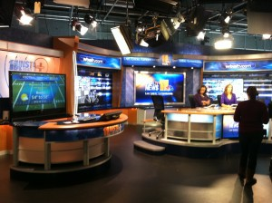 WBALTV Studio where Dr. Becker was interviewed